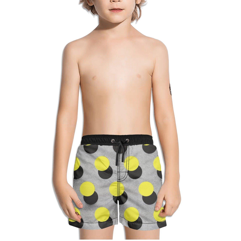Ouxioaz Boys Swim Trunk Polka Dot Beach Board Shorts