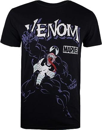 Marvel Venom Attack Camiseta para Hombre: Amazon.es: Ropa y accesorios