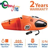 myTVS TDI-22 2-in-1 Vacuum Cleaner and Tyre Inflator
