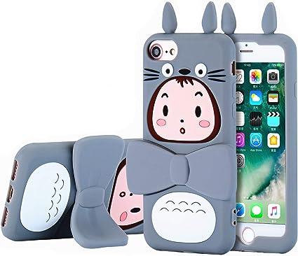 TopSZ Totoro Coque en Silicone pour iPhone iPhone 8/7/6/6S 4,7