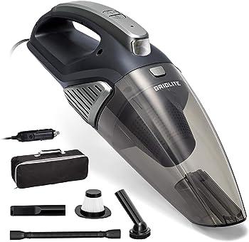 GridLite 5000PA DC 12V Wet/Dry Use Handheld Vacuum for Car