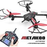 Metakoo D1 Drone con Telecamera RC Droni Camera Drone con Fotocamera HD 720P RC Quadcopter Drone Telecomandato Funzione di Sospensione Altitudine 3D Flip 2.4GHz 4CH 6 Axis Gyro