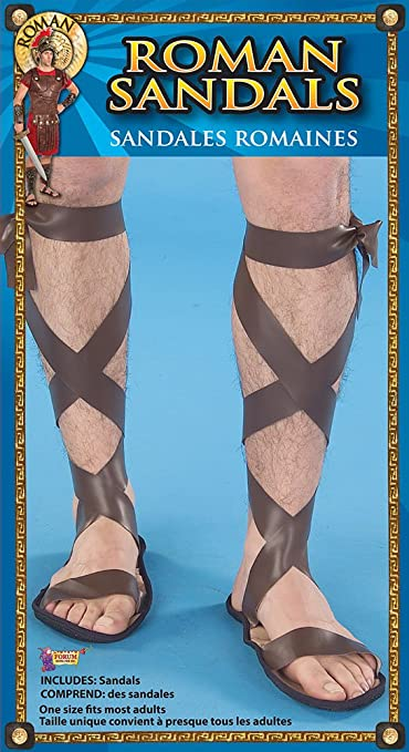 74a48449748c5e Roman Sandals (Adult Size)  Bristol Novelty  Amazon.co.uk  Toys   Games