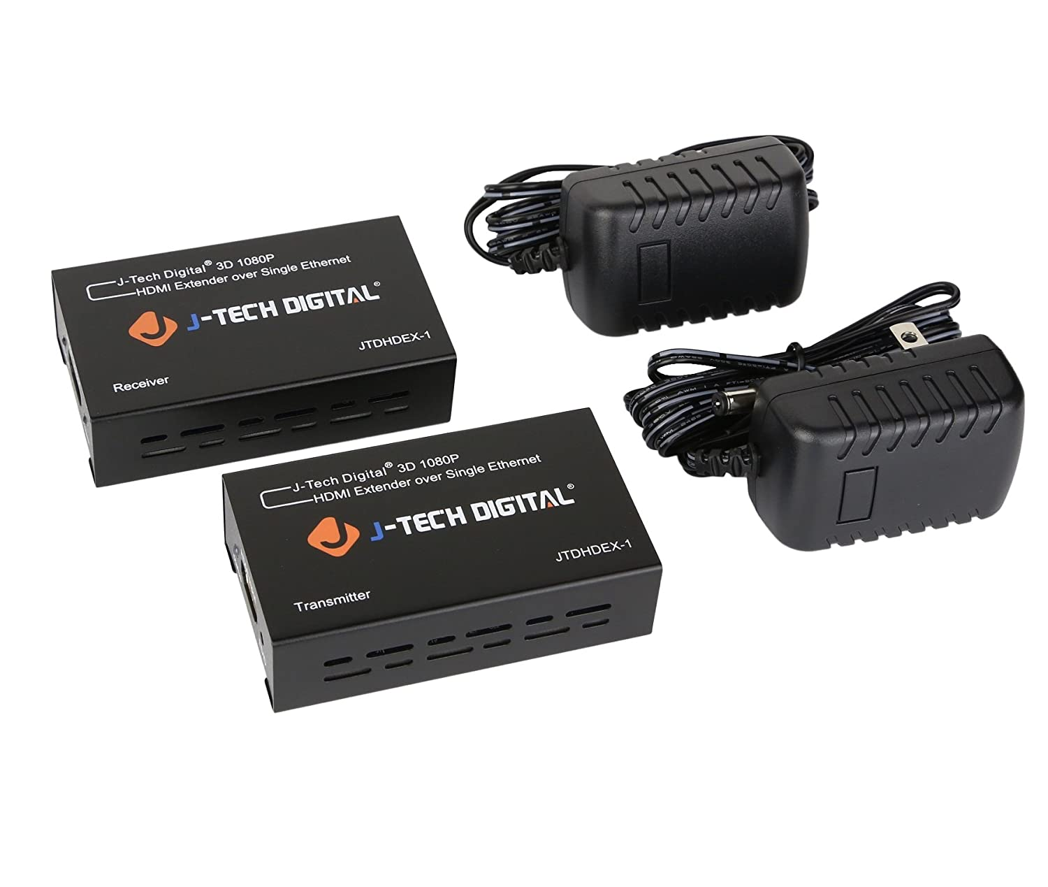 J Tech Digital Hdmi Extender 164ft 1080p Jtdhdex 1 Cat 5 Wiring Diagram For Whats Included