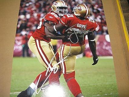 buy popular ba105 06e61 Frank Gore Vernon Davis San Francisco 49Ers Autographed ...