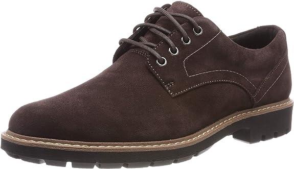 Clarks Zapatos de Cordones para Chico
