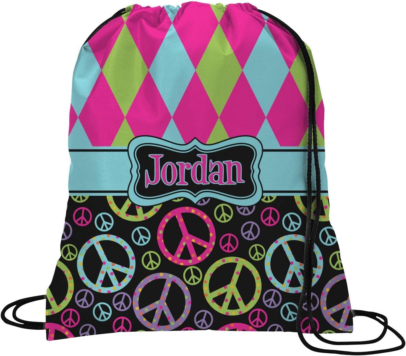 Personalized YouCustomizeIt Colorful Trellis Duffel Bag