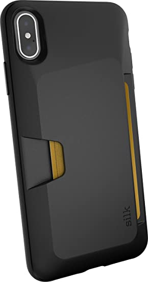 info for 08e13 f4923 Smartish iPhone Xs Max Wallet Case - Wallet Slayer Vol. 1 [Slim +  Protective] Credit Card Holder for Apple iPhone 10S Max (Silk) - Black Tie  Affair