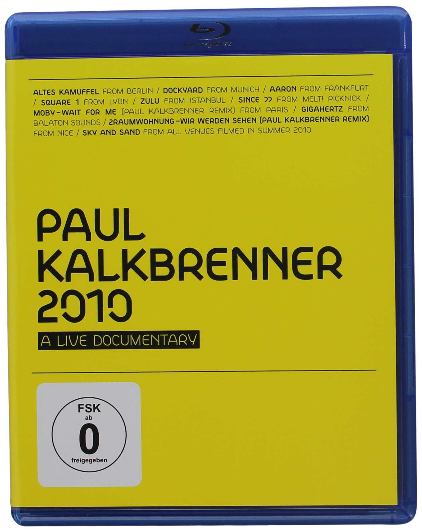 Blu-ray : Paul Kalkbrenner - 2010: A Live Documentary (Blu-ray)