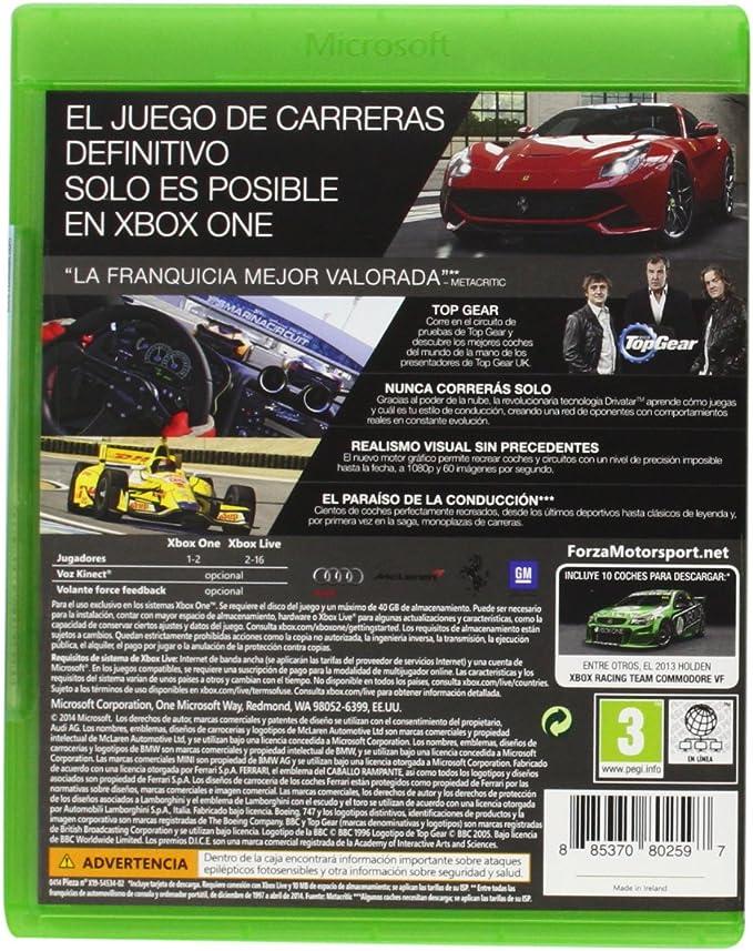 Forza Motorsport 5: Game Of The Year: Amazon.es: Videojuegos