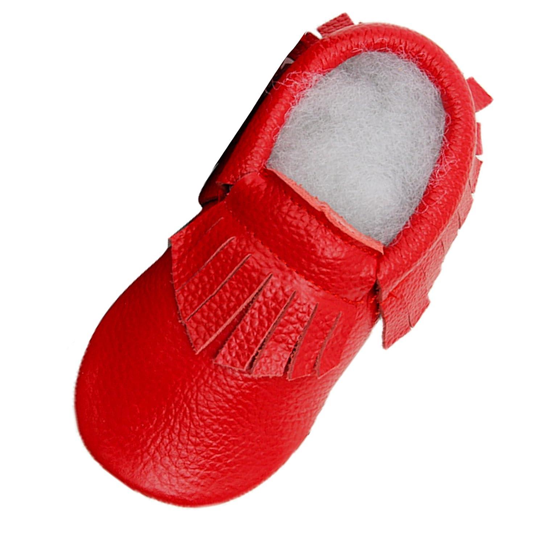 Infant Moccasins Baby Tassel First Walkers Shoes Soft Sole Tassels Prewalker for Unisex Baby Boys Girls