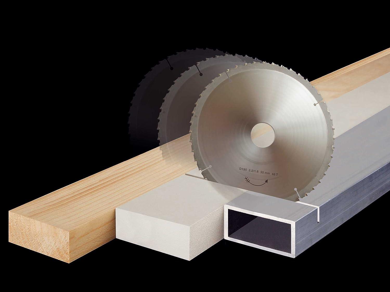 Metall... S/ägeblatt 230 mm f/ür Holz Universal Aluminium