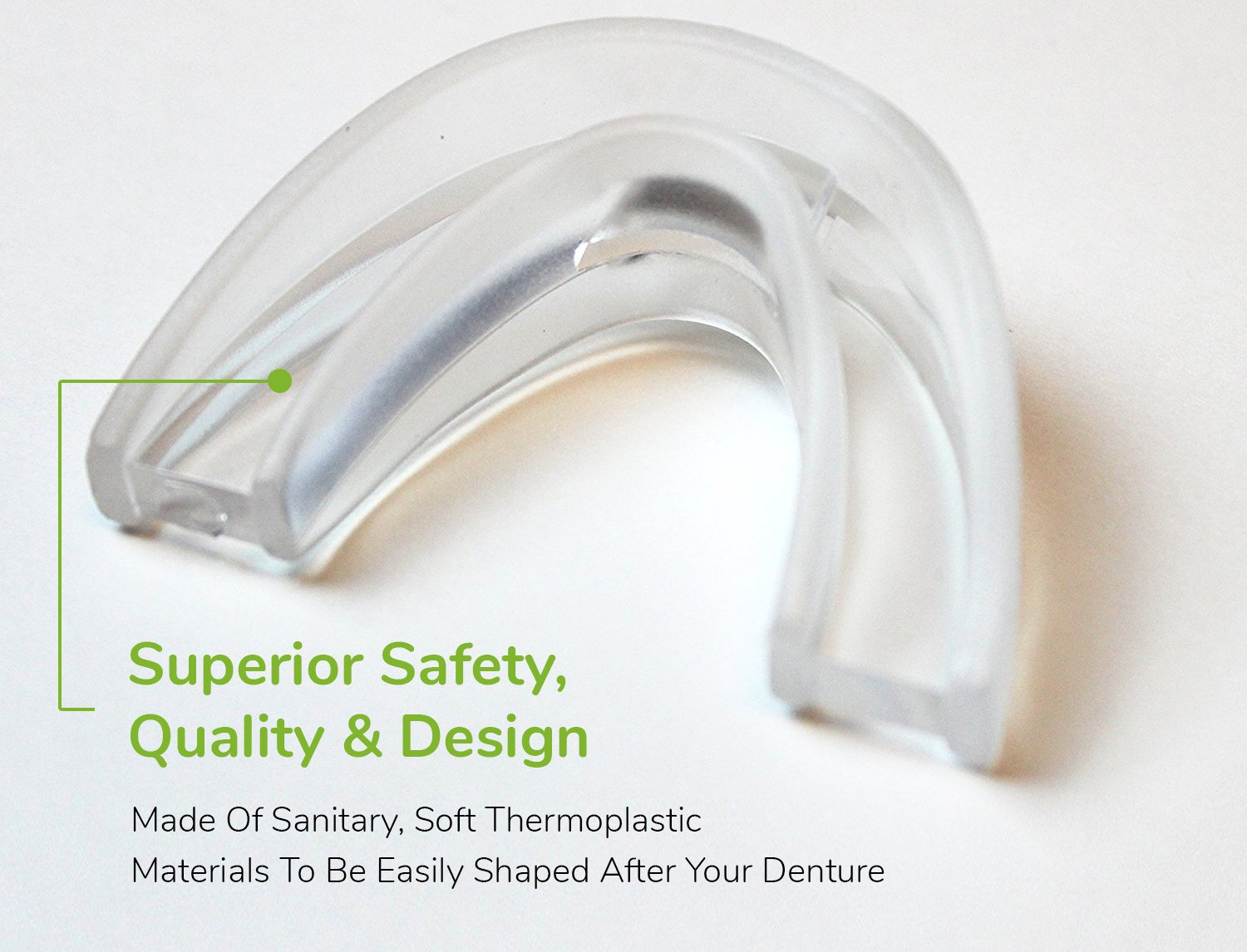 Bangbreak Snore Stopper Mouthpiece - Snoring Solution, Sleep Aid Night Mouth Guard Bruxism Mouthpiece, Best anti snoring device, sleep well and quiet sleeping night by Bangbreak (Image #3)