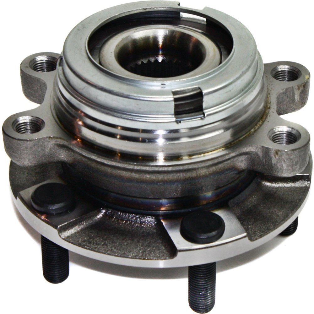 Wheel Hub and Bearing compatible with 2007-2017 Nissan Altima Front Left or Right With ABS Encoder Wheel Studs by Evan Fischer