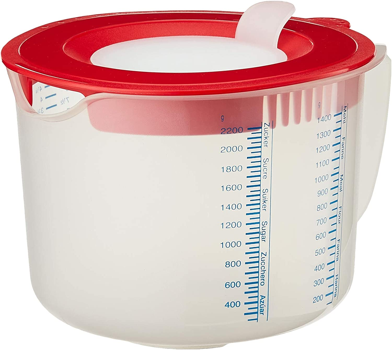 Leifheit 3169 Measure and Store - Vaso medidor 3 en 1 (2,2 L)