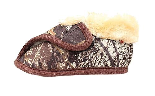 858e6f35299df Dbl Barrel Boy's Camo Bootie Slippers