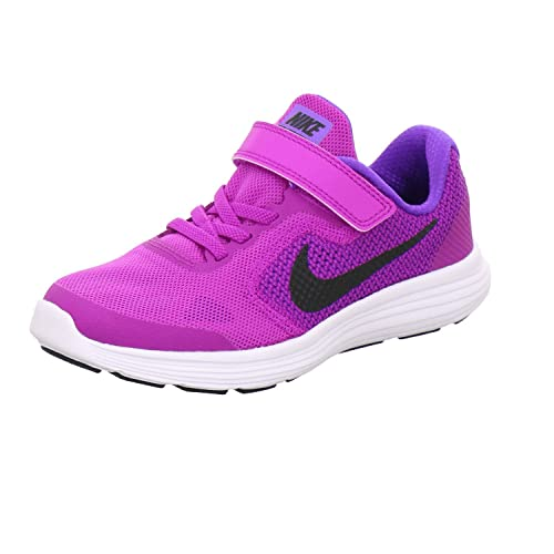 new product 4db35 a5d81 Nike 'Revolution 3 (PSV) Scarpe da Corsa, Viola (P), 32 EU: Amazon ...