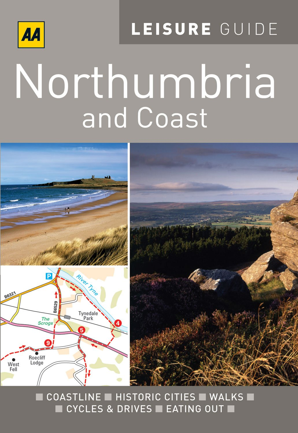 Download AA Leisure Guide Northumbria & Coast (AA Leisure Guides) pdf