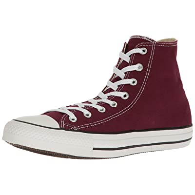 Converse Men's Shoes All Star Chuck Taylor Hi Burgundy Red Fashion Sneakers (11.5 B(M) US Women / 9.5 D(M) US Men) | Fashion Sneakers