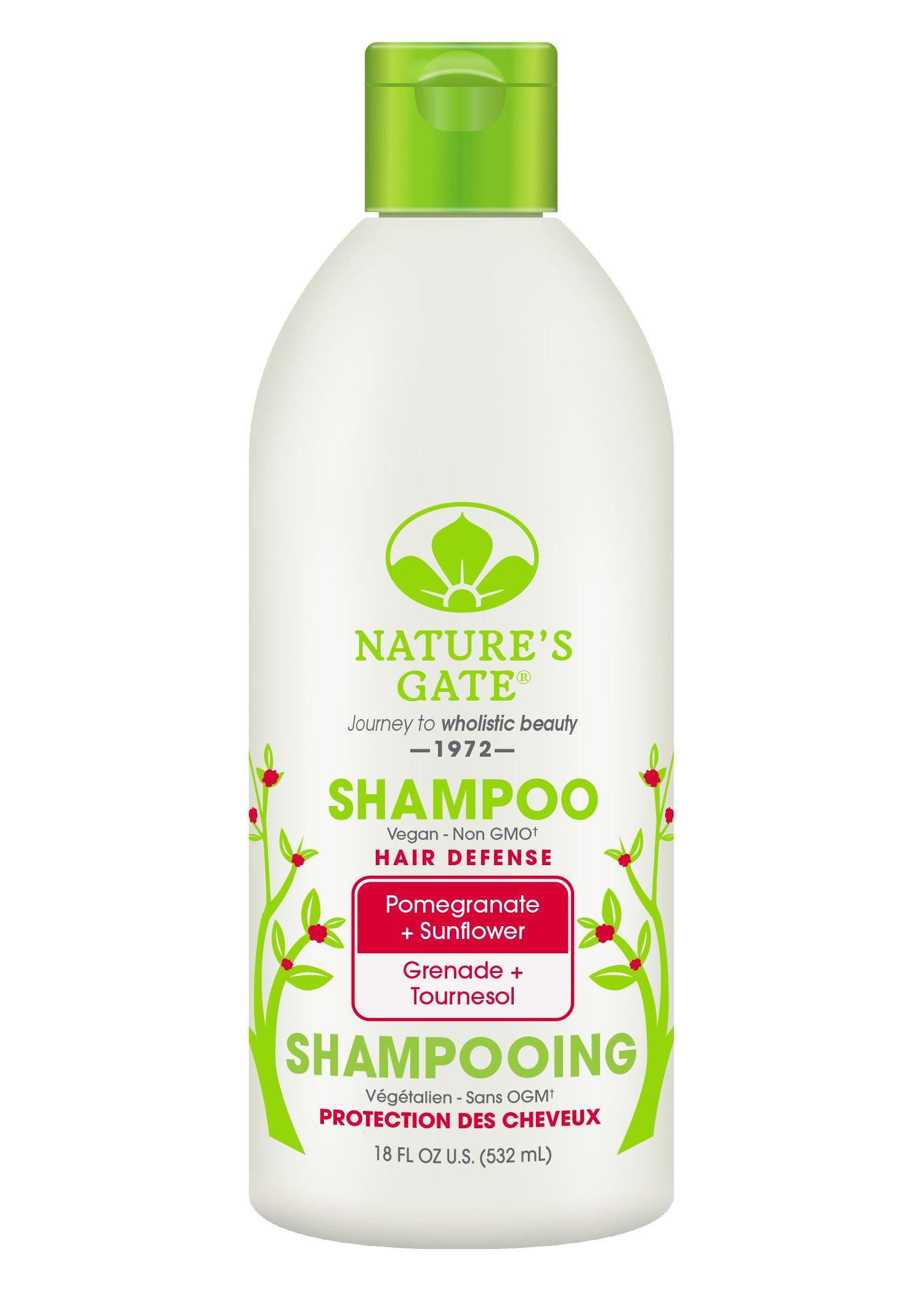 Nature S Gate Hair Defense Shampoo Pomegranate Sunflower