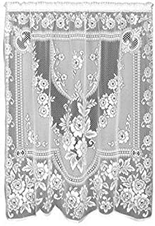 product image for Heritage Lace Victorian Rose 60-Inch Wide by 84-Inch Drop Panel, Ecru