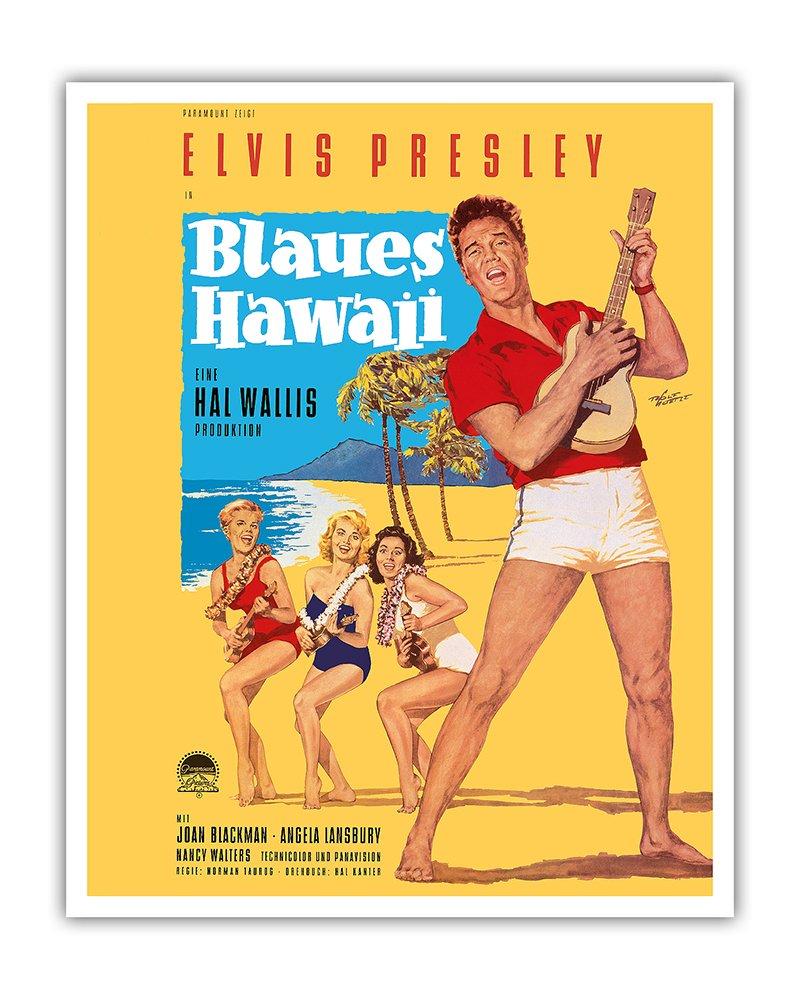 Amazon.com: Pacifica Island Art Elvis Presley in Blaues (Blue ...
