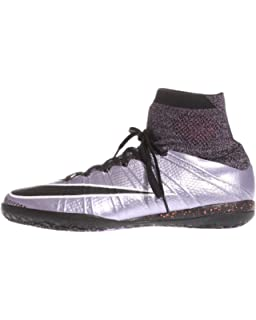 online retailer 71a32 9d479 Nike MercurialX Proximo IC Indoor Soccer Shoes (Urban Lilac Bright  Mango Black)