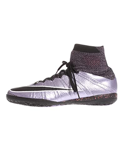 low priced 7290d f44b6 Nike MercurialX Proximo IC, Chaussures de Football Homme, Violet Noir Blanc  (