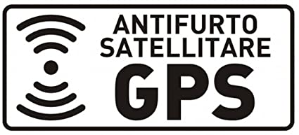 10 Pegatinas satélite specchiati transparentes Antirrobo GPS GPS para interior coche