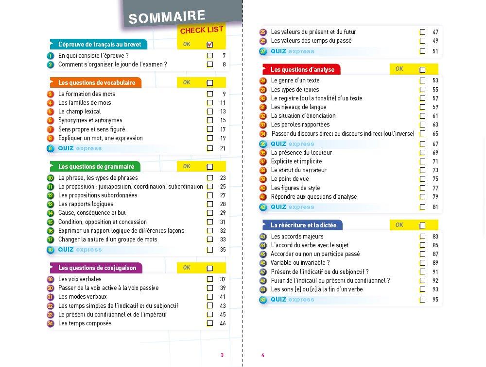 Fiches Brevet: Francais 3e: Amazon.co.uk: Sylvie Dauvin, Jacques ...