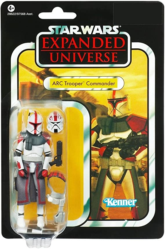 Star Wars Fighter Pods Series 4 #20 ARC TROOPER CAPTAIN Micro Figure