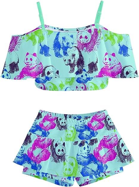 Amazon.com: PattyCandy - Trajes de baño para niña con diseño ...