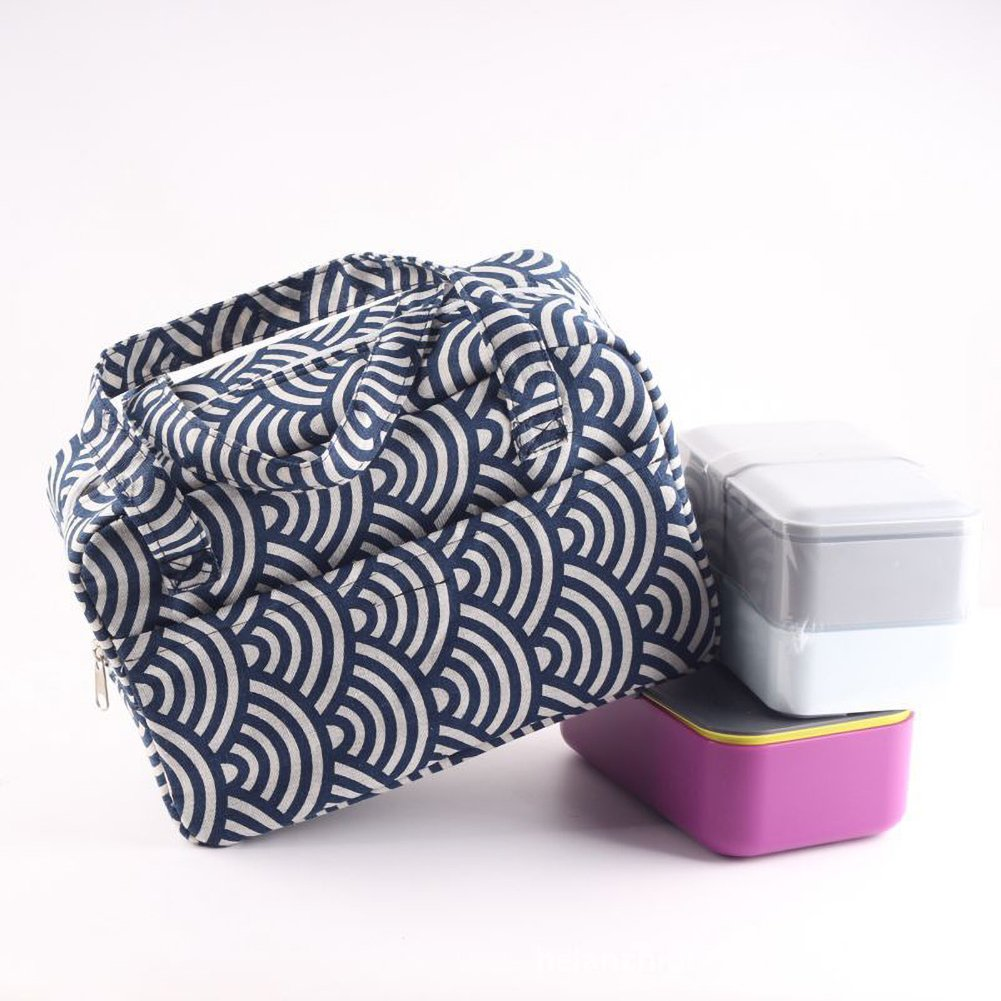 1f74ebbc9d32 Funnuf Insulated Lunch Tote Bag Resuable Bento Cooler Box Organizer ...