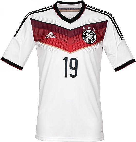 adidas Trikot DFB Fanshop Deutschland Home Götze, Weiß, S
