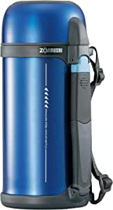 Zojirushi Vacuum Insulated Stainless Steel Bottle with Cup Tuff Sports 1.5 L, Metallic Blue