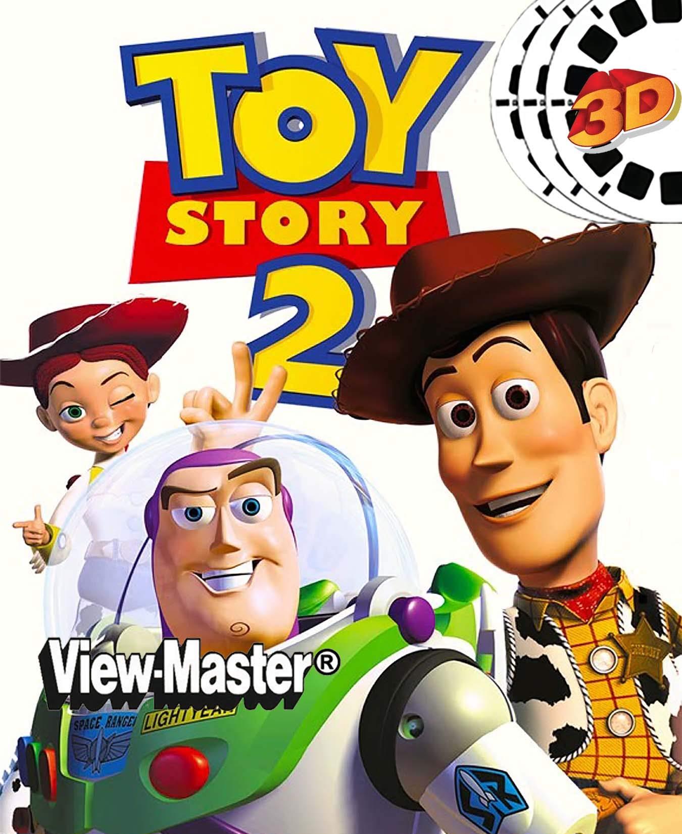ViewMaster 3D Reels - Disney Pixar Toy Story 2 set