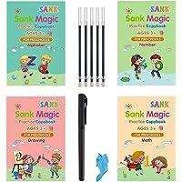 Sank Magic Practice Copybook for Kids -Reusable Writing Practice Book The Print Handwiriting Workbook(Alphabet Book with…