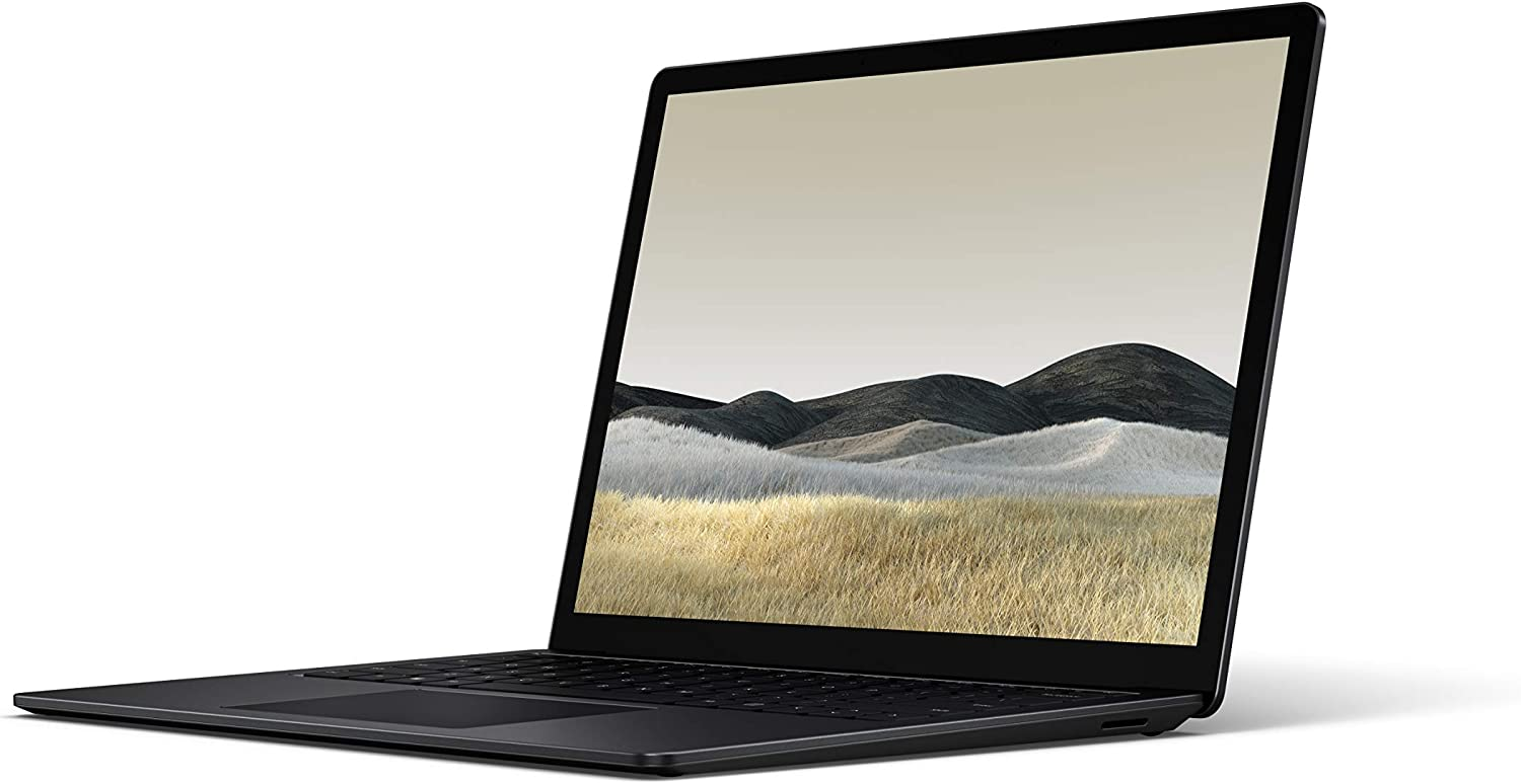 "Microsoft Surface Laptop 3 – 13.5"" Touch-Screen – Intel Core i5 - 8GB Memory - 256GB Solid State Drive (Latest Model) – Matte Black"