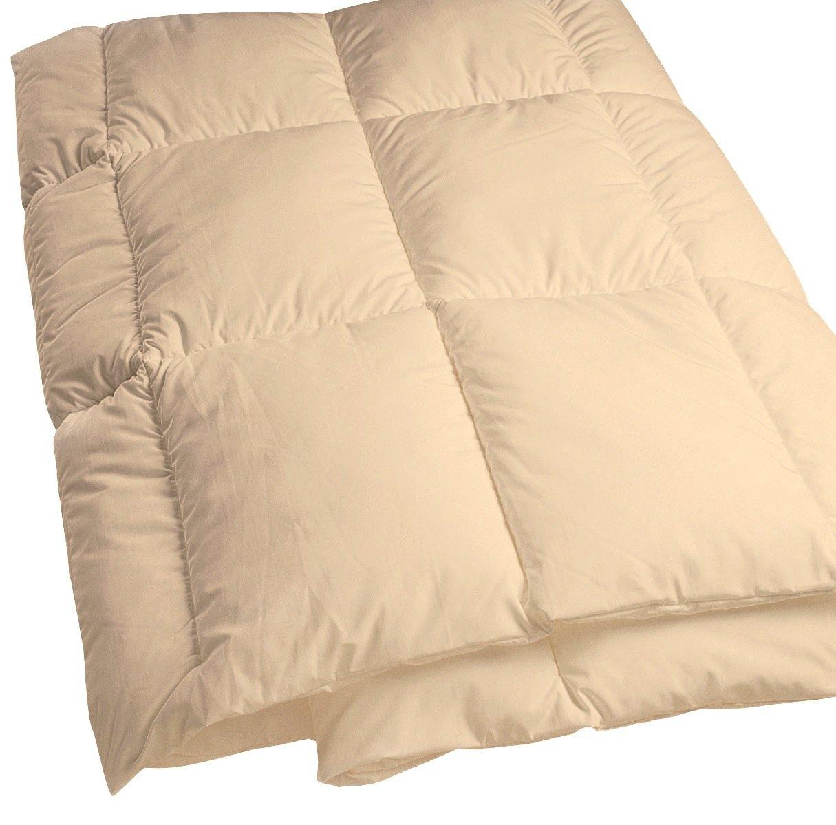 "Dust Mite- and Allergen-Proof Comforter; ""DreamFill / Premium Microfiber"" (Queen; Natural cream color)"