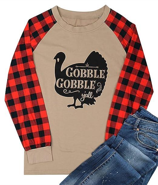 Amazon.com: Gobble Gobble Yall Thanksgiving - Camisetas ...