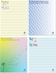 KAPTAN Inspire 2 To Do List Notepads for Home and Office, 4 Pack, Inspiring and Motivational Daily and Weekly Memo Note Pads for Tracking Appointments, Schedules, Personal Goals