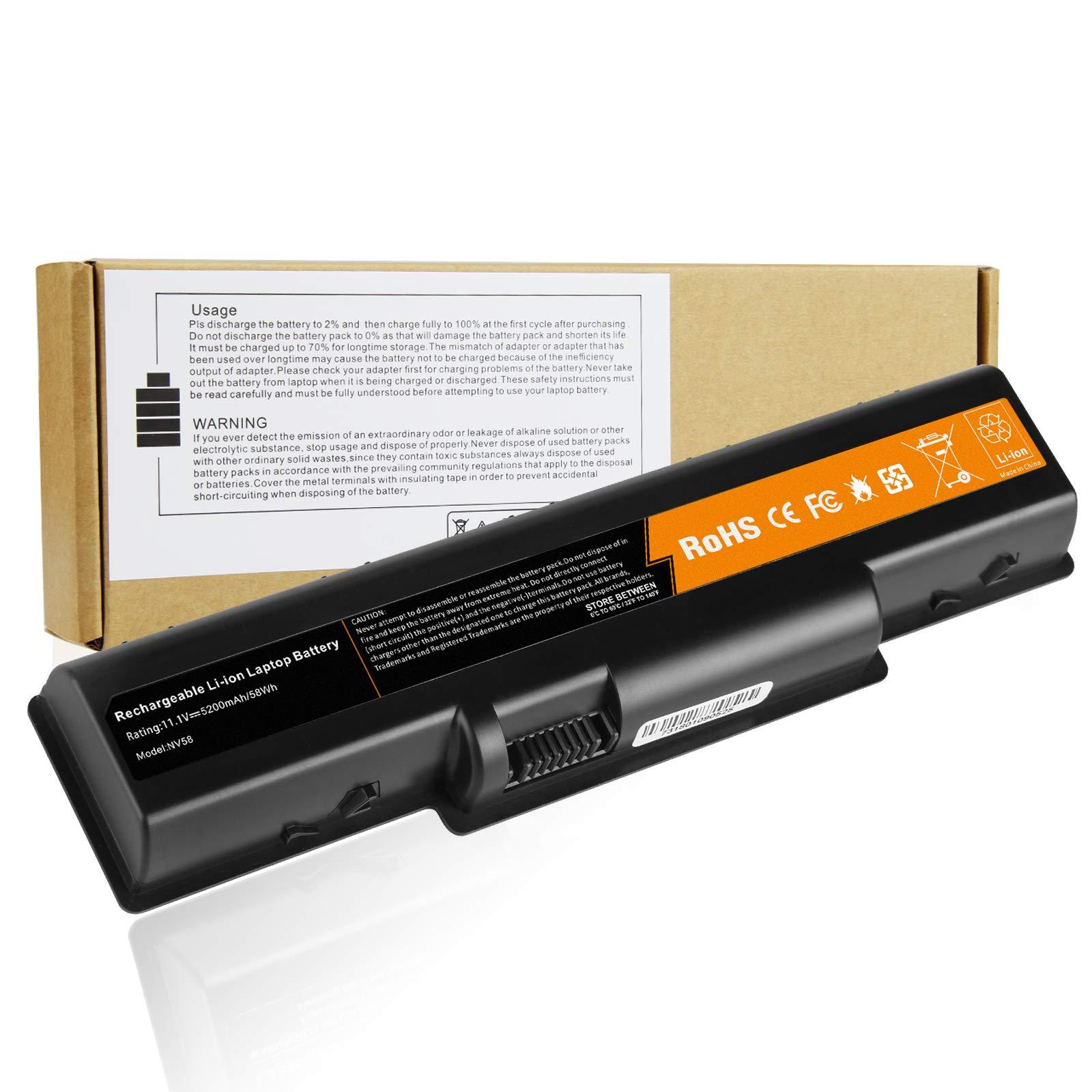 Bateria para Acer Aspire 5532 5732Z 5334 5517 AS09A31 AS09A61 AS09A41 AS09A51 AS09A71 AS09A75-12 6 Celdas 11.1V 5200mAh