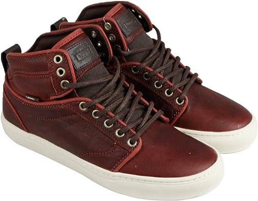 Vans Alomar + Mens Brown Leather Lace