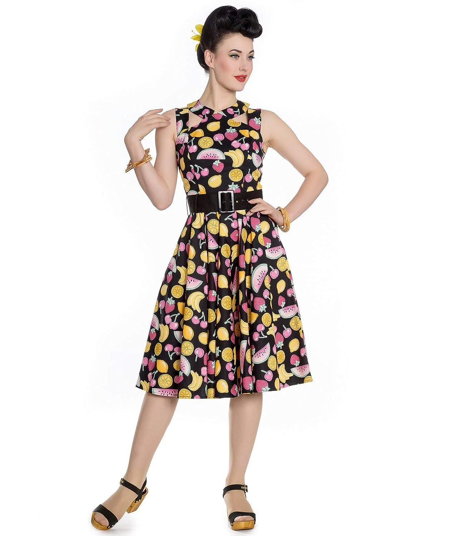 52c9bdc0fe7ae Hell Bunny Tutti Frutti 50s Style Rockabilly Dress  Amazon.co.uk  Clothing