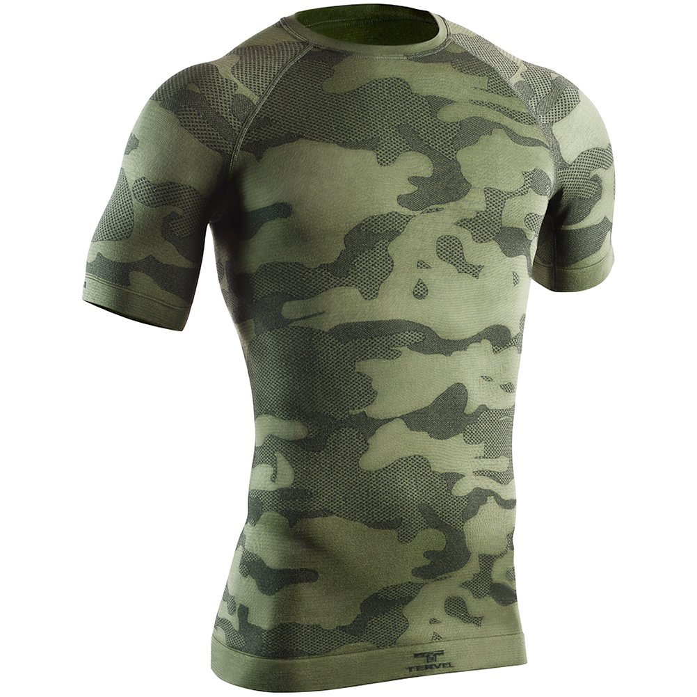 Tervel Optiline Tactical Shirt Kurzarm Military / Grau