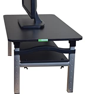 Home Concept Speedy Stand Up Desk Light Cherry Regular Amazon