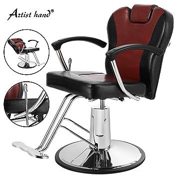 Awe Inspiring Artist Hand Barber Chair Wide Backrest Reclining All Purpose Theyellowbook Wood Chair Design Ideas Theyellowbookinfo