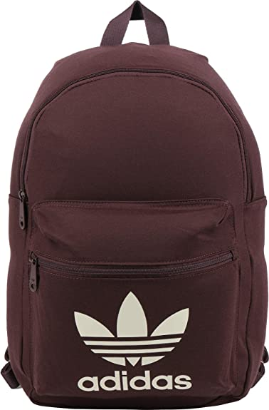 df84483a20b7 adidas Originals Tricot Classic Backpack - Burgundy  Amazon.co.uk ...