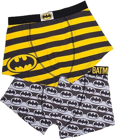 DC COMICS - 2 Pack Boxer Short - Batman (XXL) : TShirt, ML: Amazon.es: Ropa y accesorios