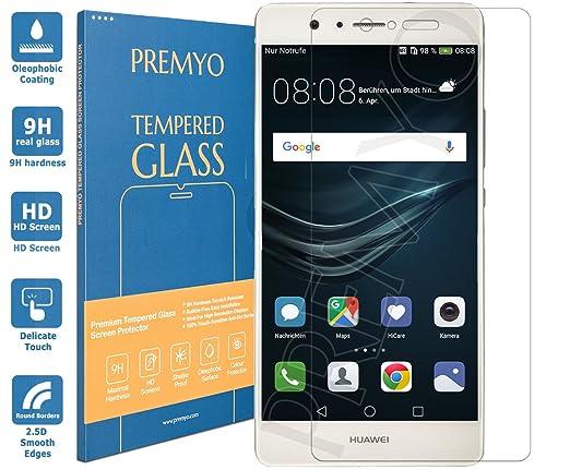 132 opinioni per PREMYO vetro temperato P9 Lite. Pellicola vetro temperato Huawei P9 Lite con una